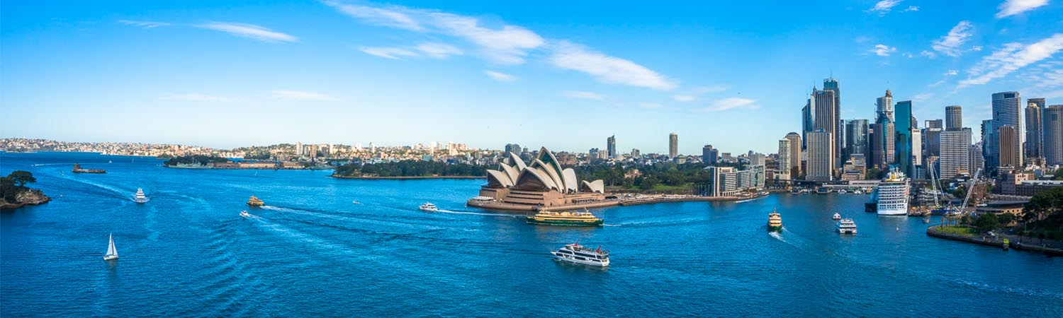 Sydney Harbour - Specialist Aerial video production company
